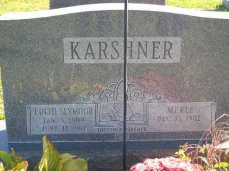 KARSHNER, EDITH H. - Ross County, Ohio | EDITH H. KARSHNER - Ohio Gravestone Photos