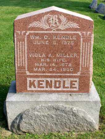 KENDLE, WILLIAM C. - Ross County, Ohio   WILLIAM C. KENDLE - Ohio Gravestone Photos