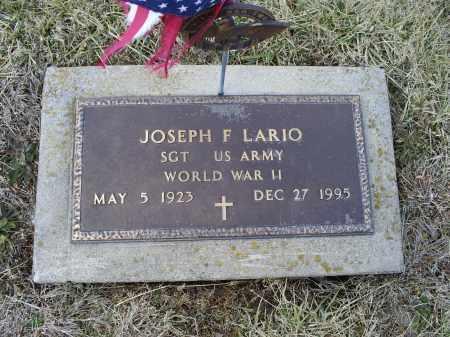 LARIO, JOSEPH F. - Ross County, Ohio   JOSEPH F. LARIO - Ohio Gravestone Photos