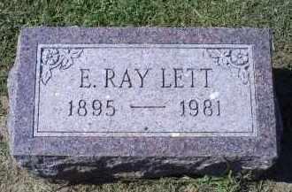 LETT, E. RAY - Ross County, Ohio   E. RAY LETT - Ohio Gravestone Photos