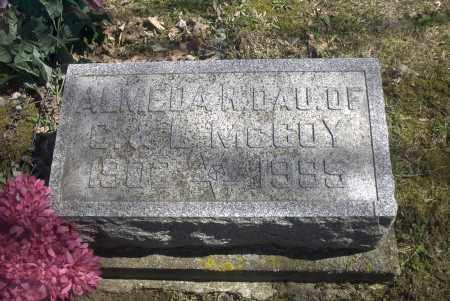 MCCOY, ALMEDA R. - Ross County, Ohio | ALMEDA R. MCCOY - Ohio Gravestone Photos