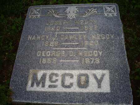 DAWLEY MCCOY, NANCY J. - Ross County, Ohio | NANCY J. DAWLEY MCCOY - Ohio Gravestone Photos
