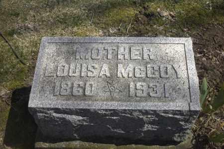 MCCOY, LOUISA - Ross County, Ohio | LOUISA MCCOY - Ohio Gravestone Photos