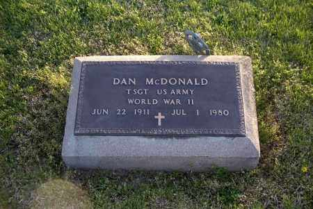 MCDONALD, DAN - Ross County, Ohio | DAN MCDONALD - Ohio Gravestone Photos