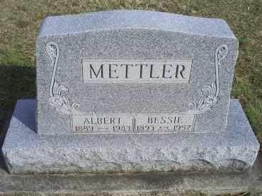 METTLER, ALBERT - Ross County, Ohio   ALBERT METTLER - Ohio Gravestone Photos