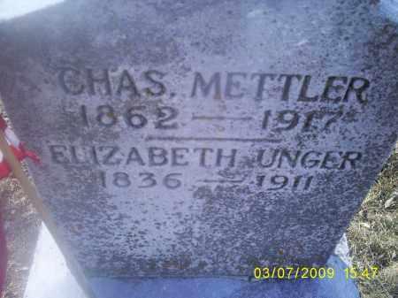 METTLER, ELIZABETH - Ross County, Ohio | ELIZABETH METTLER - Ohio Gravestone Photos