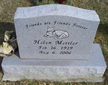 METTLER, HELEN - Ross County, Ohio | HELEN METTLER - Ohio Gravestone Photos