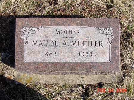 METTLER, MAUDE - Ross County, Ohio | MAUDE METTLER - Ohio Gravestone Photos