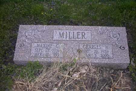 MILLER, CHARLES W. - Ross County, Ohio   CHARLES W. MILLER - Ohio Gravestone Photos