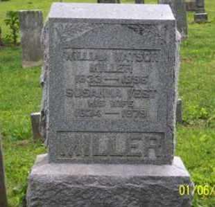 MILLER, WILLIAM WATSON - Ross County, Ohio | WILLIAM WATSON MILLER - Ohio Gravestone Photos