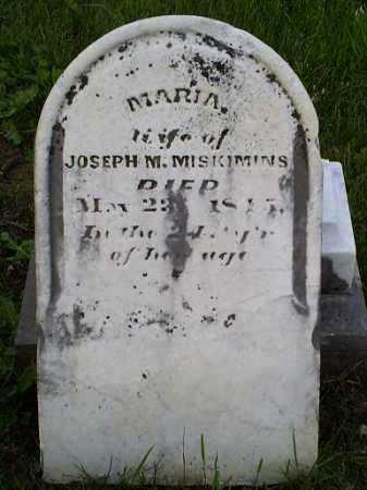 MISKIMINS, MARIA - Ross County, Ohio | MARIA MISKIMINS - Ohio Gravestone Photos