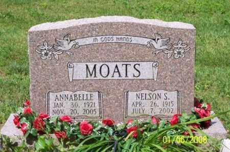 MOATS, ANNABELLE - Ross County, Ohio | ANNABELLE MOATS - Ohio Gravestone Photos