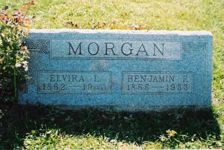 MORGAN, ELVIRA LUCEVIA - Ross County, Ohio | ELVIRA LUCEVIA MORGAN - Ohio Gravestone Photos