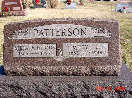 PONTIOUS PATTERSON, SELDA - Ross County, Ohio | SELDA PONTIOUS PATTERSON - Ohio Gravestone Photos
