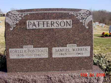 PATTERSON, KOKELLA - Ross County, Ohio | KOKELLA PATTERSON - Ohio Gravestone Photos