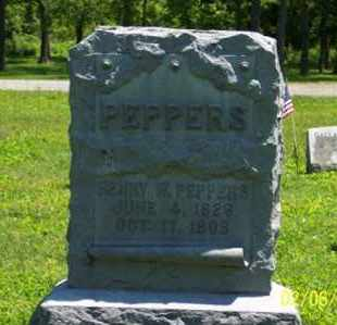 PEPPERS, HENRY W. - Ross County, Ohio | HENRY W. PEPPERS - Ohio Gravestone Photos