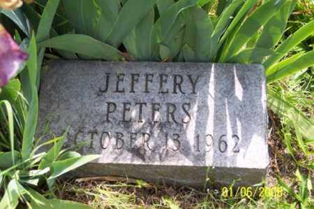 PETERS, JEFFERY - Ross County, Ohio | JEFFERY PETERS - Ohio Gravestone Photos