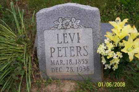 PETERS, LEVI - Ross County, Ohio | LEVI PETERS - Ohio Gravestone Photos