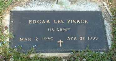PIERCE, EDGAR LEE - Ross County, Ohio   EDGAR LEE PIERCE - Ohio Gravestone Photos
