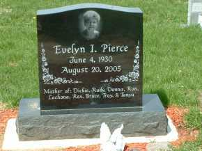 PIERCE, EVELYN I. - Ross County, Ohio | EVELYN I. PIERCE - Ohio Gravestone Photos