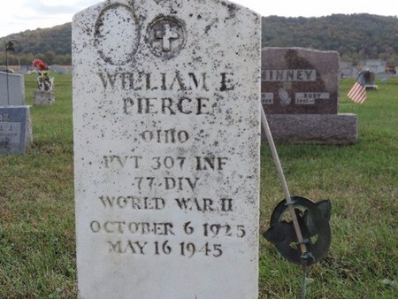 PIERCE, WILLIAM E - Ross County, Ohio | WILLIAM E PIERCE - Ohio Gravestone Photos