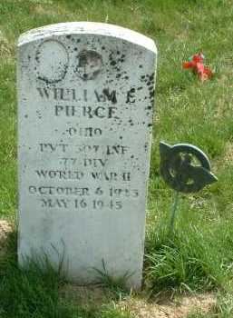 PIERCE, WILLIAM E. - Ross County, Ohio | WILLIAM E. PIERCE - Ohio Gravestone Photos