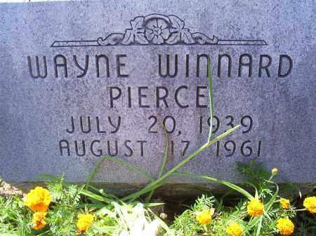 PIERCE, WAYNE WINNARD - Ross County, Ohio   WAYNE WINNARD PIERCE - Ohio Gravestone Photos