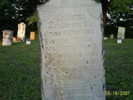 PONTIOUS, CATHERINA - Ross County, Ohio | CATHERINA PONTIOUS - Ohio Gravestone Photos