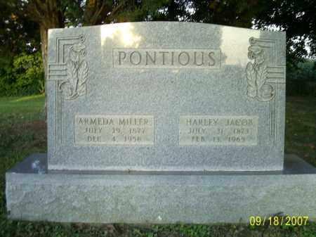 PONTIOUS, HARLEY JACOB - Ross County, Ohio | HARLEY JACOB PONTIOUS - Ohio Gravestone Photos