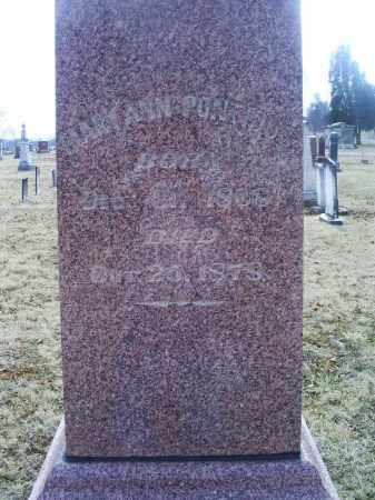 PONTIOUS, MARY ANN - Ross County, Ohio | MARY ANN PONTIOUS - Ohio Gravestone Photos