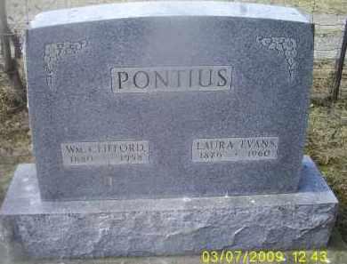 PONTIOUS, WM. CLIFFORD - Ross County, Ohio | WM. CLIFFORD PONTIOUS - Ohio Gravestone Photos