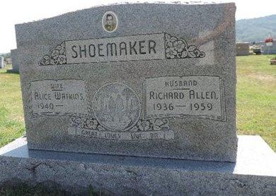 SHOEMAKER, RICHARD ALLEN - Ross County, Ohio   RICHARD ALLEN SHOEMAKER - Ohio Gravestone Photos