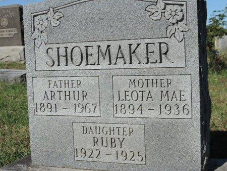 SHOEMAKER, ARTHUR - Ross County, Ohio | ARTHUR SHOEMAKER - Ohio Gravestone Photos