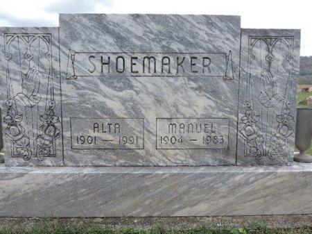 SHOEMAKER, ALTA - Ross County, Ohio | ALTA SHOEMAKER - Ohio Gravestone Photos
