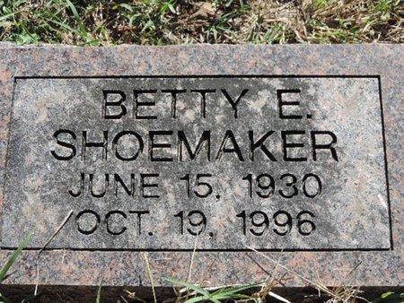 SHOEMAKER, BETTY E. - Ross County, Ohio | BETTY E. SHOEMAKER - Ohio Gravestone Photos