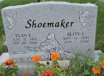 SHOEMAKER, BETTY L - Ross County, Ohio | BETTY L SHOEMAKER - Ohio Gravestone Photos