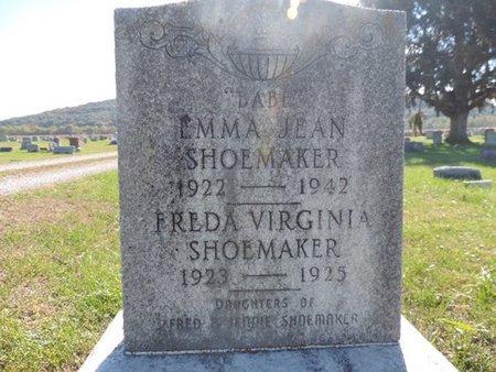 SHOEMAKER, EMMA JEAN - Ross County, Ohio | EMMA JEAN SHOEMAKER - Ohio Gravestone Photos