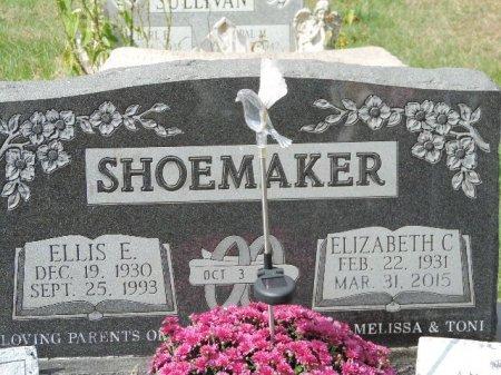 SHOEMAKER, ELIZABETH C - Ross County, Ohio | ELIZABETH C SHOEMAKER - Ohio Gravestone Photos