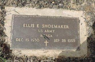 SHOEMAKER, ELLIS E - Ross County, Ohio | ELLIS E SHOEMAKER - Ohio Gravestone Photos