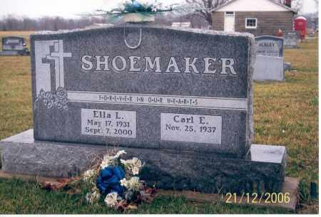 SHOEMAKER, CARL E. - Ross County, Ohio | CARL E. SHOEMAKER - Ohio Gravestone Photos