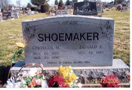 SHOEMAKER, GERTRUDE M. - Ross County, Ohio | GERTRUDE M. SHOEMAKER - Ohio Gravestone Photos