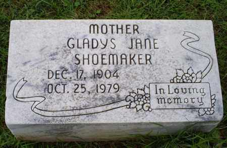 SHOEMAKER, GLADYS JANE - Ross County, Ohio | GLADYS JANE SHOEMAKER - Ohio Gravestone Photos