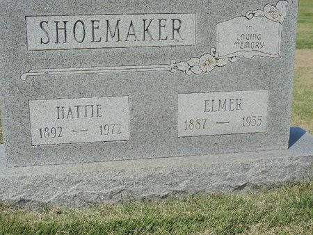SHOEMAKER, ELMER - Ross County, Ohio | ELMER SHOEMAKER - Ohio Gravestone Photos