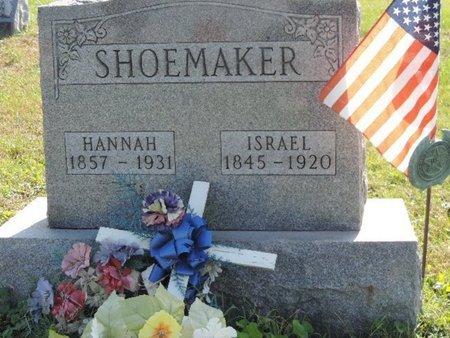 SHOEMAKER, HANNAH - Ross County, Ohio | HANNAH SHOEMAKER - Ohio Gravestone Photos