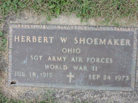 SHOEMAKER, HERBERT W - Ross County, Ohio | HERBERT W SHOEMAKER - Ohio Gravestone Photos