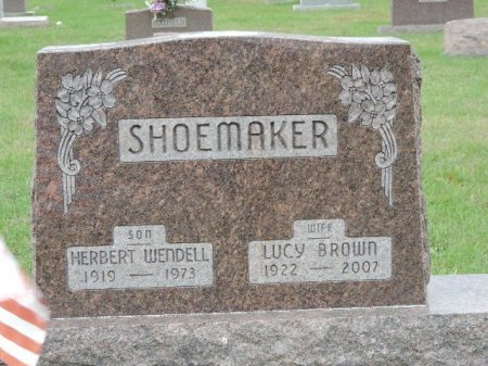 SHOEMAKER, LUCY - Ross County, Ohio | LUCY SHOEMAKER - Ohio Gravestone Photos