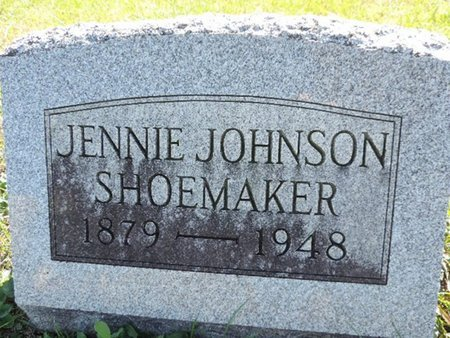 SHOEMAKER, JENNIE - Ross County, Ohio | JENNIE SHOEMAKER - Ohio Gravestone Photos