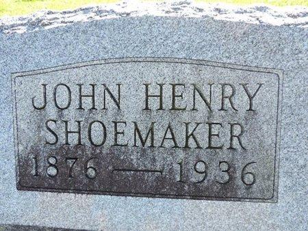 SHOEMAKER, JOHN HENRY - Ross County, Ohio | JOHN HENRY SHOEMAKER - Ohio Gravestone Photos