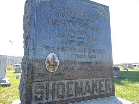 SHOEMAKER, JOHN S. - Ross County, Ohio | JOHN S. SHOEMAKER - Ohio Gravestone Photos