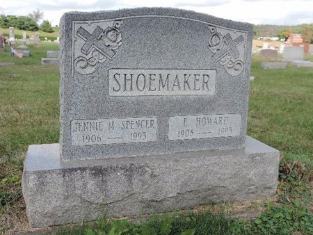 SHOEMAKER, E. HOWARD - Ross County, Ohio | E. HOWARD SHOEMAKER - Ohio Gravestone Photos